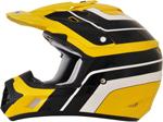 AFX FX17 VINTAGE YAMAHA Motocross/Offroad/ATV Helmet (Yellow)