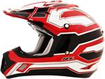 AFX FX17 WORKS Motocross/Offroad/ATV Helmet (Red)
