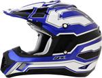 AFX FX17 WORKS Motocross/Offroad/ATV Helmet (Blue)