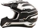 AFX FX17 WORKS Motocross/Offroad/ATV Helmet (Flat Black)