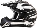 AFX FX17 WORKS Motocross/Offroad/ATV Helmet (Black)