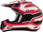 AFX FX17 WORKS Motocross/Offroad/ATV Helmet (Fuchsia)