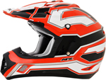 AFX FX17 WORKS Motocross/Offroad/ATV Helmet (Safety Orange)