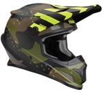 Thor MX Motocross Sector Helmet (MOSSER Matte Green Camo)