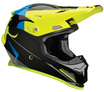 Thor MX Motocross Sector Helmet (SHEAR Gloss Black/Acid)