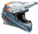 Thor MX Motocross Sector Helmet (SHEAR Gloss Slate/Sky)