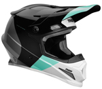 Thor MX Motocross Sector MIPS Helmet (BOMBER Gloss Black/Mint)