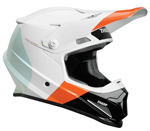 Thor MX Motocross Sector MIPS Helmet (BOMBER Gloss White/Red/Orange)