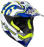 AGV AX-8 EVO Ranch Offroad Helmet (Blue/White)