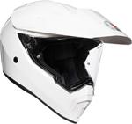 AGV AX9 Dual Sport Helmet (Gloss White)