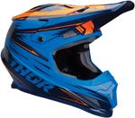 Thor MX Motocross Sector WARP Helmet (Blue/Navy/Orange)