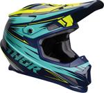 Thor MX Motocross Sector WARP Helmet (Navy/Teal/Hi Vis)