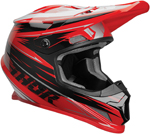 Thor MX Motocross Sector WARP Helmet (Red/Black/Silver)