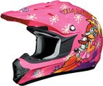 AFX FX17Y ROCKET GIRL Kids Motocross/Offroad/ATV Helmet (Pink)
