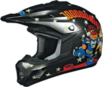 AFX FX17Y ROCKET BOY Kids Motocross/Offroad/ATV Helmet (Black)