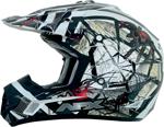 AFX FX17Y TRAP Kids Motocross/Offroad/ATV Helmet (Black Web)