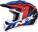 AFX FX17Y HOLESHOT Kids Offroad/ATV Motorcycle Helmet (Matte Black/Red/White/Blue)