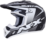 AFX FX17Y HOLESHOT Kids Offroad/ATV Motorcycle Helmet (Frost Grey/Black/White)