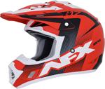 AFX FX17Y HOLESHOT Kids Offroad/ATV Motorcycle Helmet (Red/Black/White)