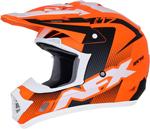 AFX FX17Y HOLESHOT Kids Offroad/ATV Motorcycle Helmet (Matte Neon Orange/Black/White)