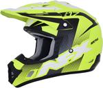 AFX FX17Y HOLESHOT Kids Offroad/ATV Motorcycle Helmet (Matte Neon Yellow/Black/White)