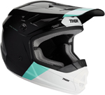 Thor MX Motocross YOUTH MIPS Sector BOMBER Helmet (Black/Mint/White)