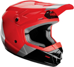 Thor MX Motocross YOUTH MIPS Sector BOMBER Helmet (Red/Charcoal/Black)