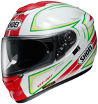 SHOEI GT-Air EXPANSE TC-10 Full-Face Motorcycle Helmet (White/Red/Green)
