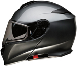 Z1R SOLARIS Modular Helmet w/ Dual Pane Cold-Weather Shield (Dark Silver)