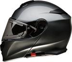Z1R SOLARIS Modular Helmet w/ Electric Cold-Weather Shield (Dark Silver)