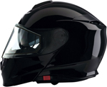 Z1R SOLARIS Modular Snowmobile Helmet (Black)