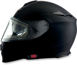 Z1R SOLARIS Modular Snow Helmet w/ Electric Shield (Flat Black)