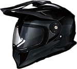 Z1R RANGE Cold-Weather Snow Dual-Sport Adventure Helmet (Gloss Black)