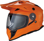Z1R RANGE Cold-Weather Snow Dual-Sport Adventure Helmet (Orange)
