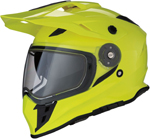 Z1R RANGE Cold-Weather Snow Dual-Sport Adventure Helmet (Hi-Viz Yellow)