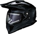 Z1R RANGE Cold-Weather Snow Dual-Sport Helmet w/ Electric Shield (Gloss Black)