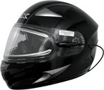 AFX FX90SE Full-Face Snow/Motorcycle Helmet w/ Electric Shield (Gloss Black)