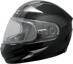 AFX MAGNUS-S Full-Face Snow/Motorcycle Helmet w/ Dual Pane Shield (Black)