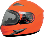 AFX FX90S Full-Face Snow/Motorcycle Helmet w/ Dual Pane Shield (Safety Orange)