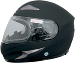 AFX MAGNUS-S Full-Face Snow/Motorcycle Helmet w/ Dual Pane Shield (Flat Black)