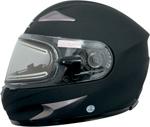 AFX MAGNUS-SE Full-Face Snow/Motorcycle Helmet w/ Electric Shield (Flat Black)