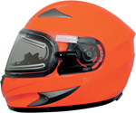 AFX MAGNUS-SE Full-Face Snow/Motorcycle Helmet w/ Electric Shield (Safety Orange)