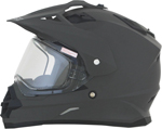 AFX FX39DS Dual Sport/Adventure Snow Helmet w/ Dual Pane Shield (Frost Grey)
