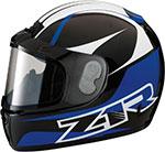Z1R PHANTOM PEAK Snow Snowmobile Helmet (Blue)