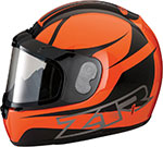 Z1R PHANTOM PEAK Snow Snowmobile Helmet (Orange)