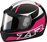 Z1R PHANTOM PEAK Snow Snowmobile Helmet (Pink)