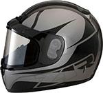 Z1R PHANTOM PEAK Snow Snowmobile Helmet (Stealth)