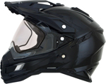 AFX FX41DS Dual Sport/Adventure Snow Helmet w/ Dual Pane Shield (Black)