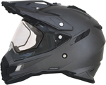 AFX FX41DS Dual Sport/Adventure Snow Helmet w/ Dual Pane Shield (Frost Grey)