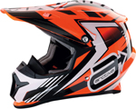Arctiva Snow Snowmobile RISE Helmet (Orange)